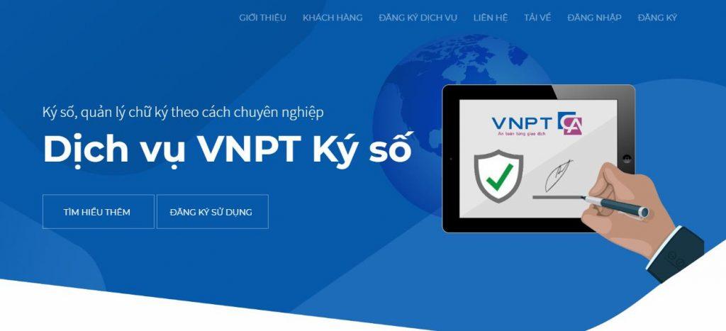 Thông tin về chữ ký số của VNPT năm 2021