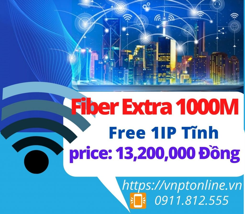 Fiber Extra 1000Mbps