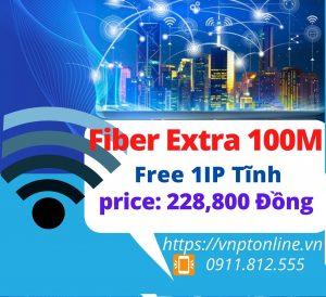 Fiber Extra 100Mbps