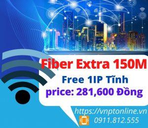 Fiber Extra 150 Mbps