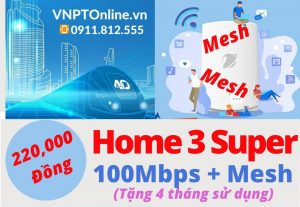 Home 3 Super Wifi Mesh