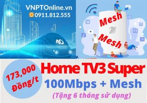 Home TV3 Super WiFi Mesh