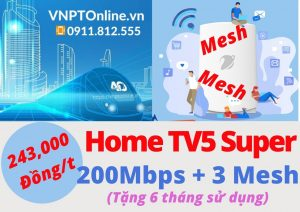 Home TV5 Super WiFi Mesh